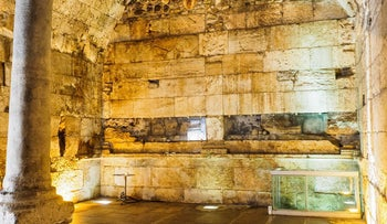 The Second Temple era structure discovered near Western Wall.