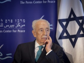 Shimon Peres at Peres Center for Peace, June 27, 2016.