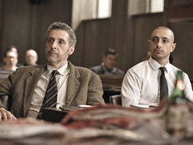 John Turturro (left) and Riz Ahmed in 'The Night Of.'