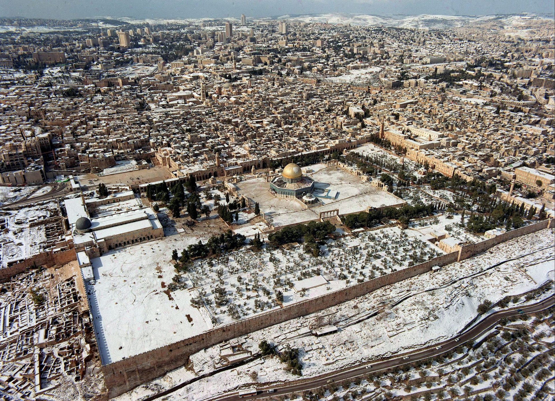 The Temple Mount.