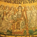 The 'Blessing of the Seventh Day,' a mosaic in Basilica di San Marco.