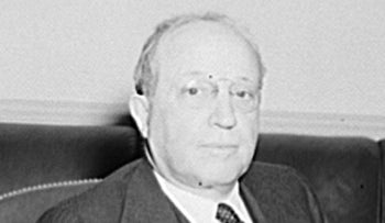Eugene Isaac Meyer as the first president of the World Bank group. He was in office from June 18, 1946 to December 4, 1946.