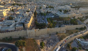 The Old City of Jerusalem, which Queen Melisende ruled in the stead of her minor son, Baldwin III, who thought his time had come rather earlier than his mother did.