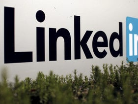 The logo for LinkedIn Corporation is shown in Mountain View, California, U.S. February 6, 2013.