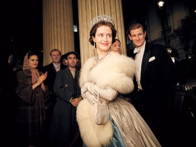 Claire Foy as Queen Elizabeth II in 'The Crown.'
