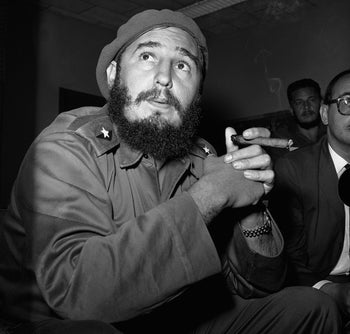 Fidel Castro, Cuba's Revolutionary Leader, Dies at 90. Here: pictured at a press conference in June 1961.