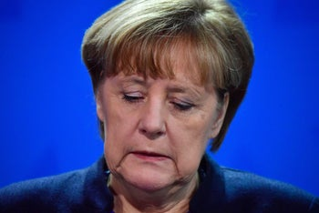 German Chancellor Angela Merkel speaks during a press conference following a terror attack that killed 12 in Berlin, Germany, December 20, 2016.