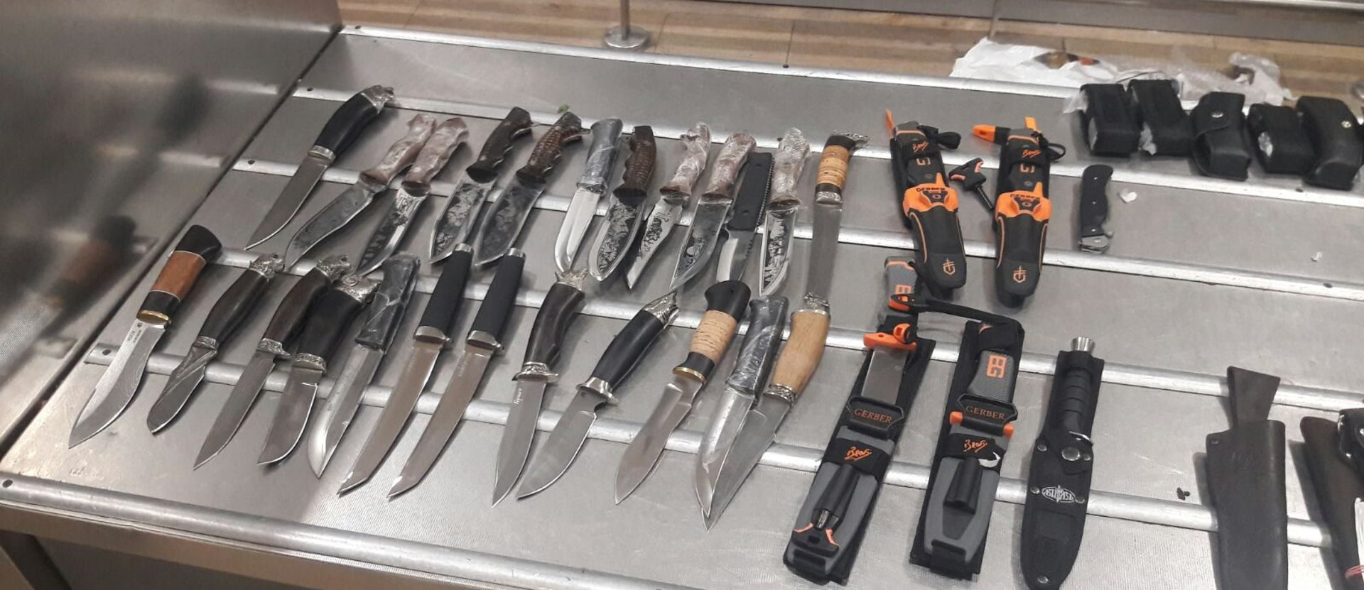 Need a knife? Attend a Customs Authority monthly auction, where you can find select confiscated knives and much, much more!