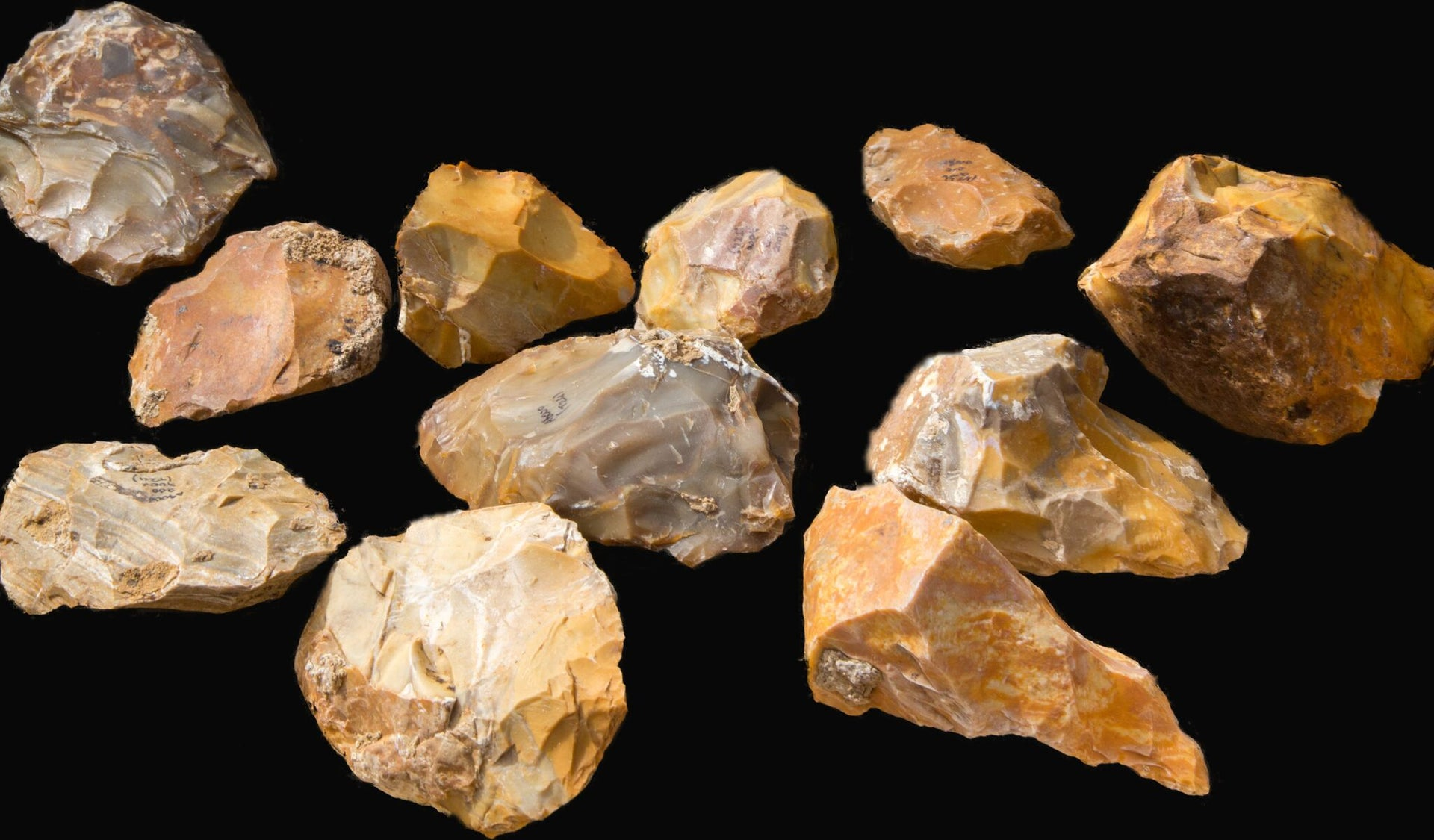 Hundreds of hand axes were uncovered in the excavation by Jaljulya, demonstrating technique that begs the question: Did man begin to develop much earlier than thought?