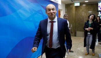 Education minister Naftali Bennett