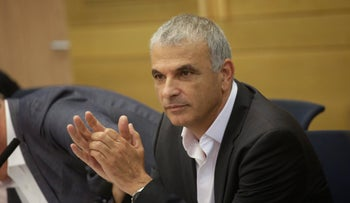 Finance Minister Moshe Kahlon at the Knesset, June 19, 2017.