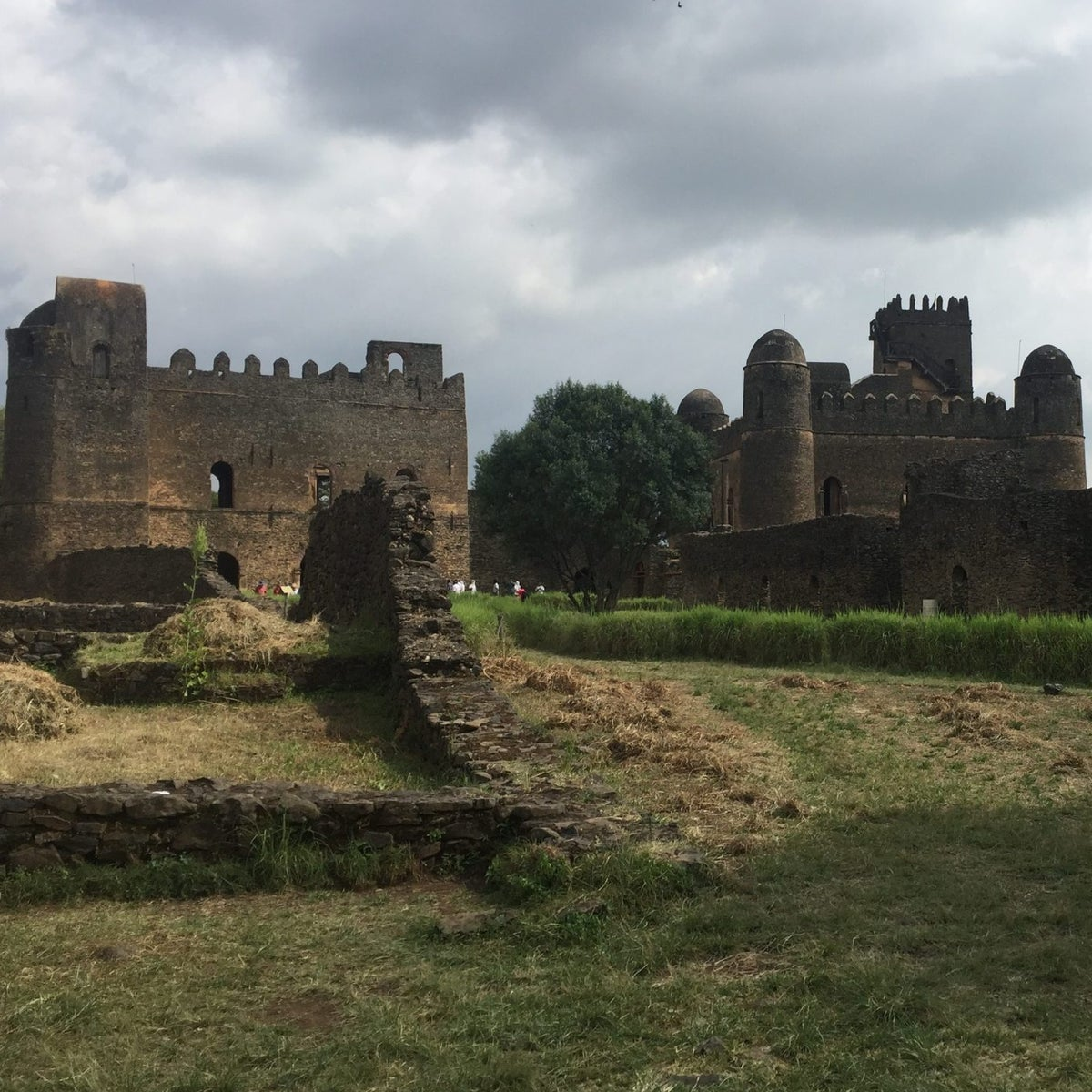 Castle ruins in Gondar, Ethiopia. Royal castles and palaces attest to Gondar's role as capital of Ethiopia in the 17th and 18th centuries, Oct. 7, 2017.