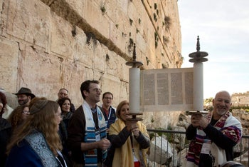 Reform Jews at the Western Wall
