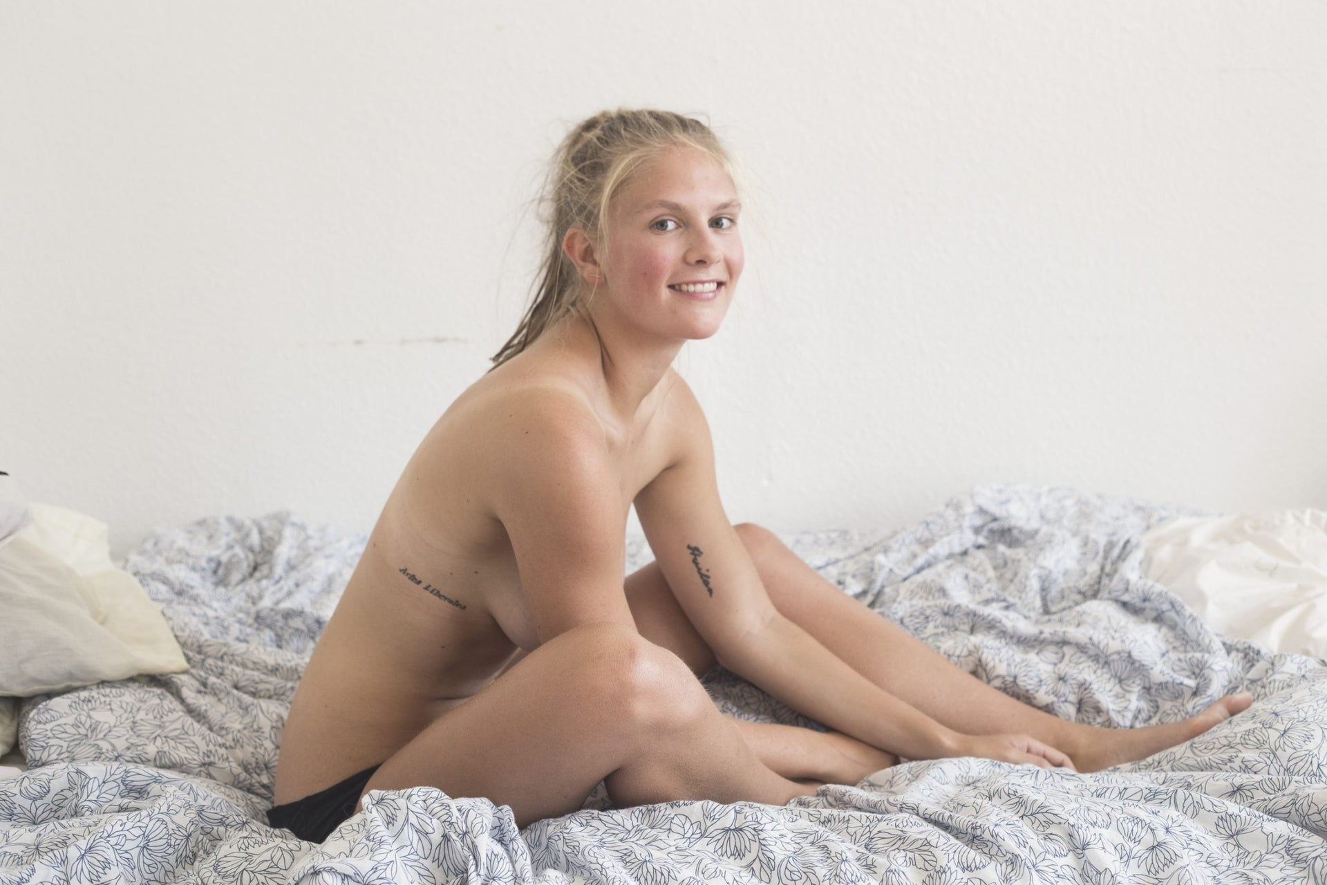 Emma Holten. A photo from  her project, 'Consent.'