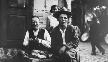Jews living in Lemberg, Poland in 1939