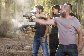 """A still from the second season of """"Fauda."""""""