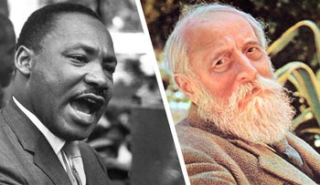 Martin Luther King Jr. and Martin Buber
