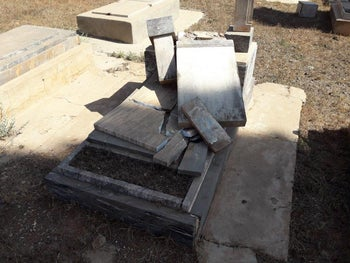 Jewish cemetery in Eritrea vandalized, dozens of graves destroys