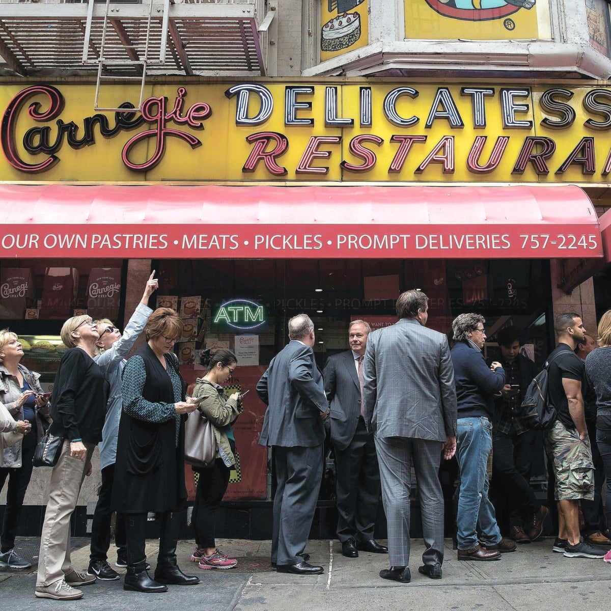 The Carnegie Deli. Shut its doors last year after 80 years in business