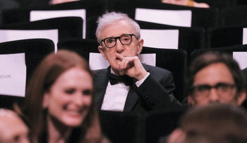 Director Woody Allen attends the opening ceremony of the 69th Cannes Film Festival in Cannes, France, May 11, 2016.