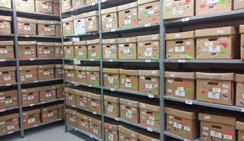 Files in the Israel State Archives.