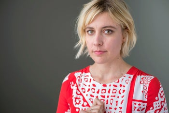 """Greta Gerwig. """"If I had known then what I know now, I would not have acted in the film,"""" she says about working with Allen on """"To Rome with Love."""""""