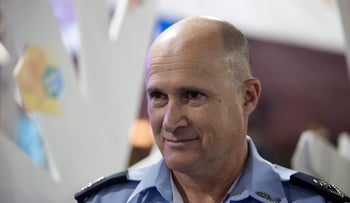 A photo of Maj. Gen. Roni Ritman, head of Lahav 433, the elite anti-fraud unit of the Israel Police, who requested a transfer in the wake of sexual allegations against him.