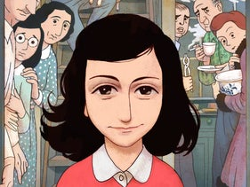 The graphic novel on Anne Frank by Ari Folman and David Polonsky, French version, 2017.