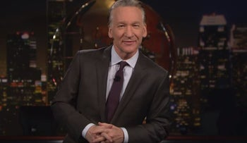 """Bill Maher on the latest episode of his HBO show """"Real Time with Bill Maher,"""" January 26, 2018"""