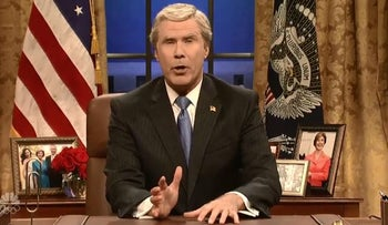 Will Ferrell returns to 'Saturday Night Live' to remind America George W Bush was not a good president