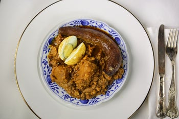 Cholent at Keton, Tel Aviv.