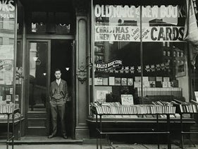 Louis Cohen opened the original Argosy Bookstore in 1925, pictured here, on Lafayette street in downtown Manhattan.