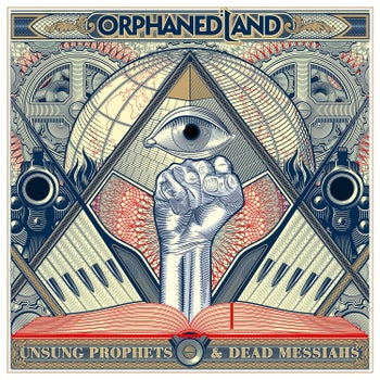The cover of Orphaned Land's new album, 'Unsung Prophets and Dead Messiahs.'