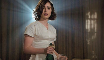 """Lily Collins in a scene from the Arnon Milchan-produced """"Rules Don't Apply."""""""