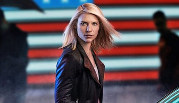 Claire Danes in 'Homeland.'