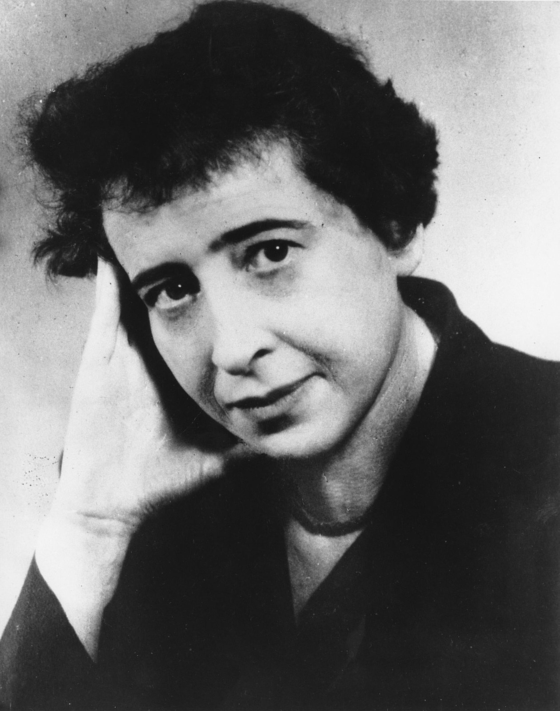 Hannah Arendt, in 1954.