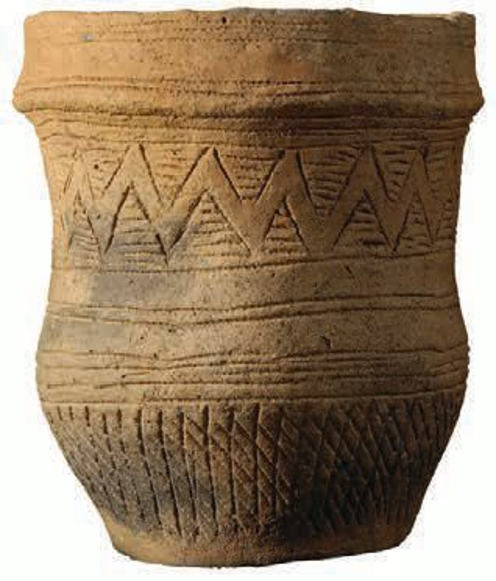 One of the beaker vessels found at Trumpington Meadows