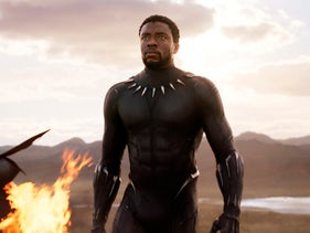 "Chadwick Boseman in a scene from ""Black Panther."" December 21, 2017."