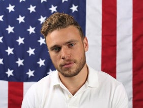 In this Sept. 25, 2017, file photo, U.S. freestyle skier Gus Kenworthy poses for a portrait at the Team USA Winter Olympics media summit in Park City, Utah