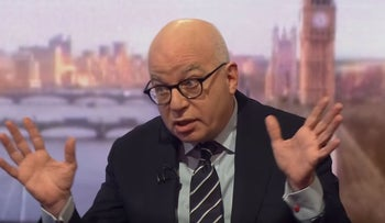 Michael Wolff interviewed by Andrew Marr on the BBC, February 25, 2018