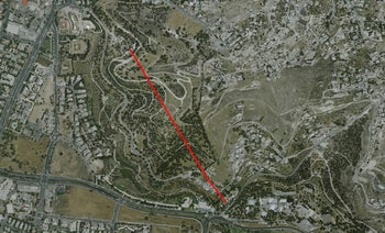 Right-wing group to build Israel's longest zip line over Jerusalem's Old City: at 784 meters long, the zip line will begin at Jerusalem's Armon Hanatziv promenade and end at the Peace Forest in the Abu Tor neighborhood