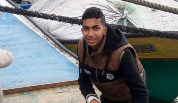 Ismail Abu Riala, an 18-year-old fisherman from Gaza, was shot and killed by Israeli navy forces on February 25, 2018.