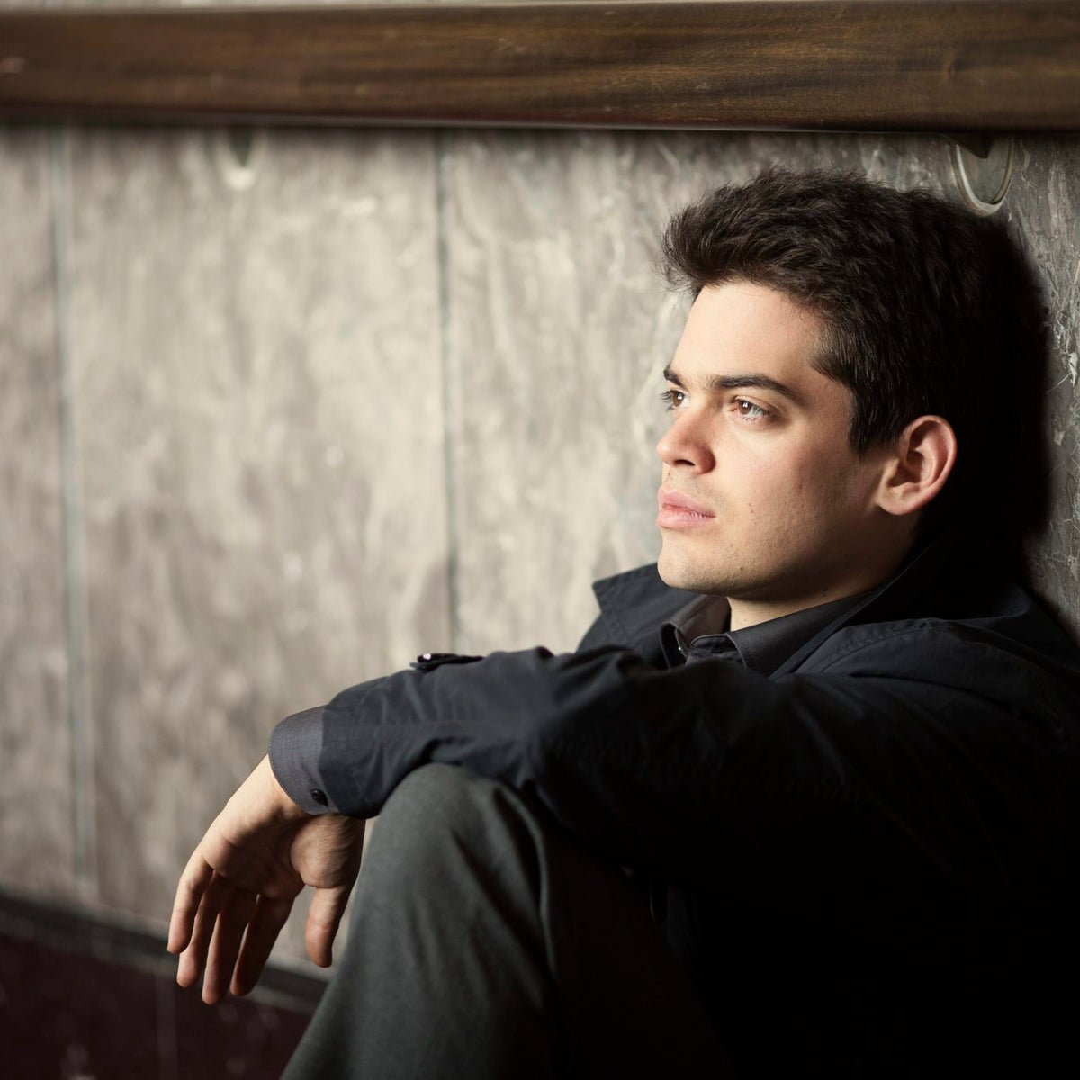 "Lahav Shani. ""The simple rule I set for myself: If it sounds good, don't interfere."""