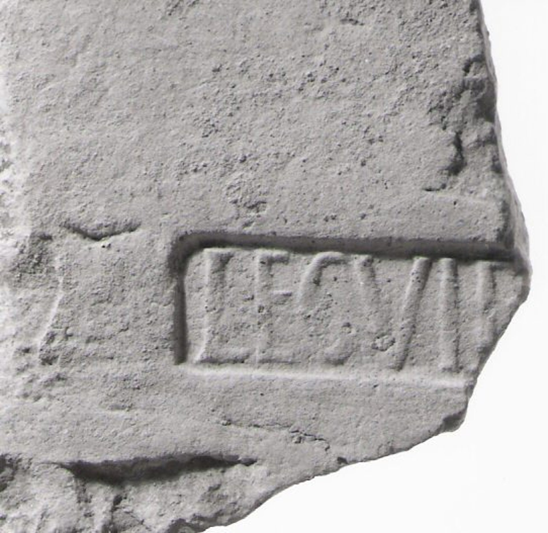 Found at the base of the Legio VI Ferrata, or Sixth Legion Ironclads, Megiddo