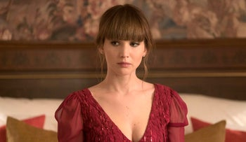 Jennifer Lawrence appears in a scene from 'Red Sparrow.'