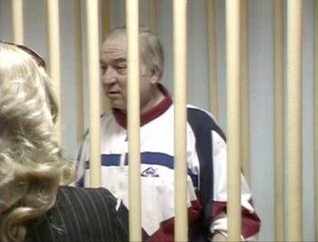 A still image taken from an undated video shows Sergei Skripal, a former colonel of Russia's GRU mil