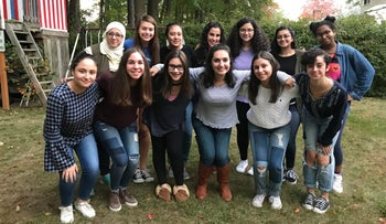 The West Hartford Teen chapter of Salaam Shalom.