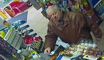In this Feb. 27, 2018 grab taken from CCTV video provided by ITN on Wednesday, March 7, 2018 , former spy Sergei Skripal shops at a store in Salisbury, England. British authorities have new information about the mysterious substance that left a former Russian spy and his daughter in critical condition, the minister responsible for public safety said Wednesday. (ITN via AP)