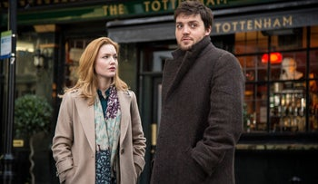 From 'Strike: The Cuckoo's Calling,' BBC's TV adaption of J.K. Rowling's detective series.