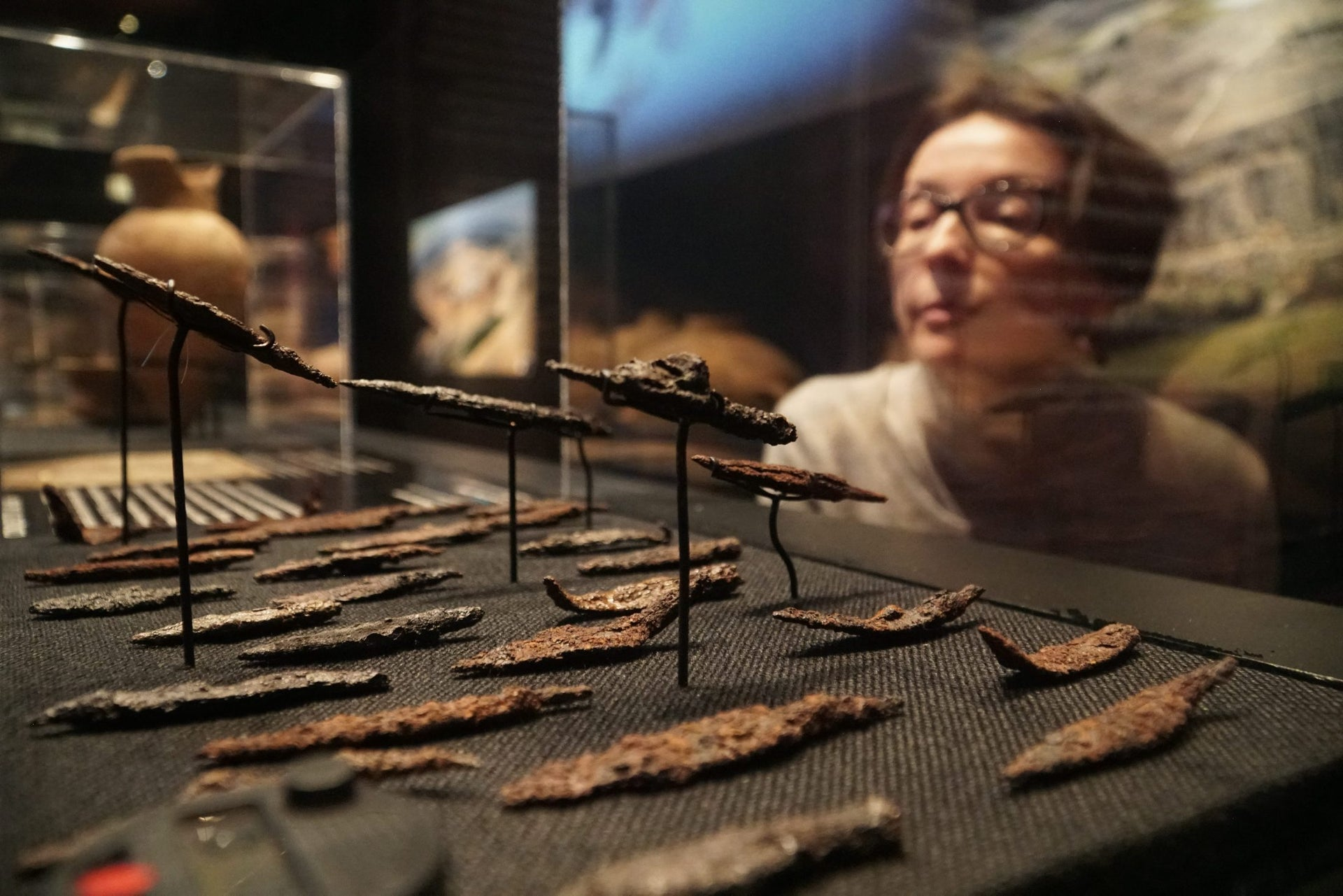 Spearheads from ancient Israel on display in Denver